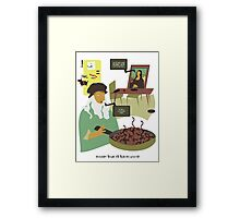 Dinner Time at the Da Mincis Framed Print