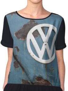 Rat look VW Camper van Chiffon Top