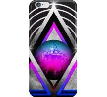 "Retro 80's Synthwave / New Retro Wave: Neon Nights (Without ""SynthWave"" Logo) iPhone Case/Skin"
