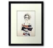 I LIKE IT NERD Framed Print