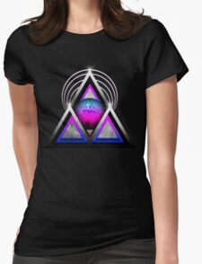 "Retro 80's Synthwave / New Retro Wave: Neon Nights (Without ""SynthWave"" Logo) Womens Fitted T-Shirt"