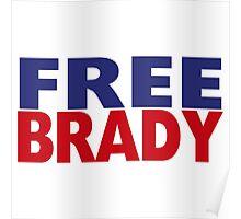# FREE BRADY Poster