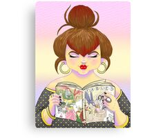 Girls read comics too! Fables Canvas Print