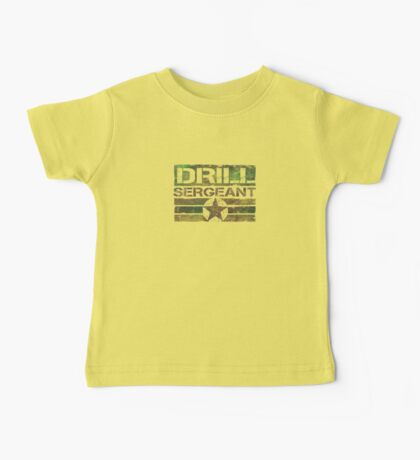 Drill sgt t shirt Baby Tee
