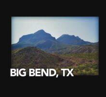 Big Bend Landscape 3 Kids Tee