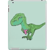 I-love-u-saurus Rex iPad Case/Skin