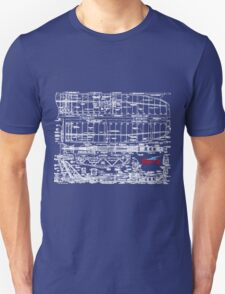 Spirit 2M Blueprint Unisex T-Shirt