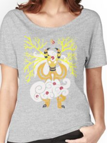 Tribalish Mega Ampharos - Eye of the Storm Women's Relaxed Fit T-Shirt