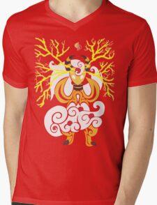 Tribalish Mega Ampharos - Eye of the Storm Mens V-Neck T-Shirt