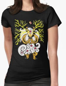 Tribalish Mega Ampharos - Eye of the Storm Womens Fitted T-Shirt