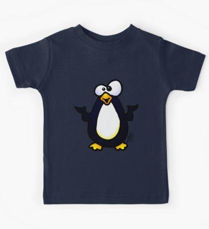 Pondering Penguin Kids Tee