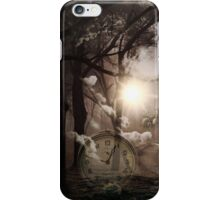 Time waits for no man iPhone Case/Skin