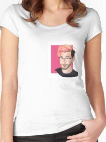 Pink Markiplier Women's Fitted Scoop T-Shirt