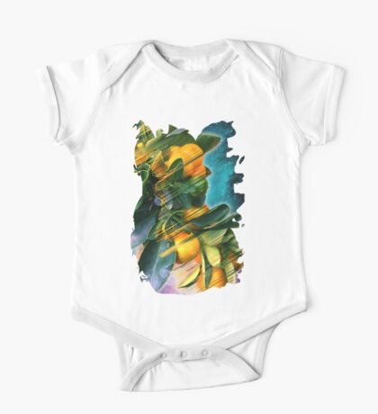 Small fruit tree in outer space One Piece - Short Sleeve