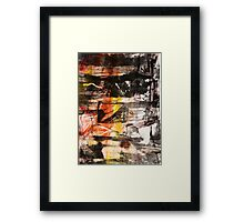 TIME IS THE FIRE IN WHICH WE BURN-PART 1—SCHWARTZ Framed Print