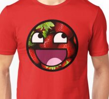 Strawberries Meme Face Unisex T-Shirt