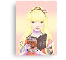 Girls read comics too! Titans Canvas Print