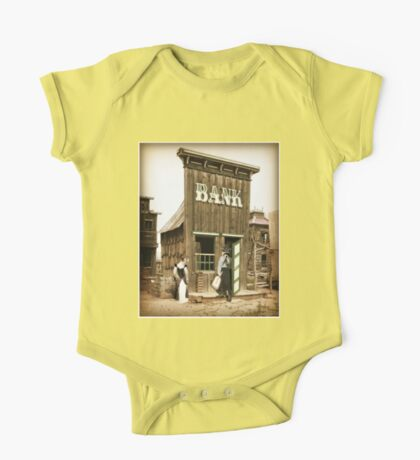 Old West Bandit One Piece - Short Sleeve