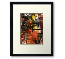 TIME IS THE FIRE IN WHICH WE BURN-PART 2—SCHWARTZ Framed Print