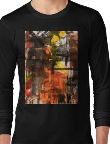 TIME IS THE FIRE IN WHICH WE BURN-PART 2—SCHWARTZ Long Sleeve T-Shirt
