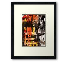 TIME IS THE FIRE IN WHICH WE BURN-PART 3—SCHWARTZ Framed Print
