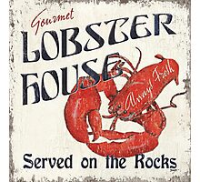 Lobster House Photographic Print