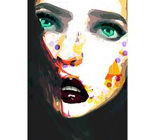 Girl with the green eyes Photographic Print