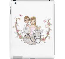 Beautiful Wedding Newlywed Bride Groom Horse iPad Case/Skin