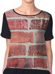Brickwork Chiffon Top