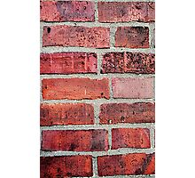 Brickwork Photographic Print