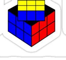 Winning Cubed Sticker