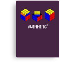 Winning Cubed Canvas Print