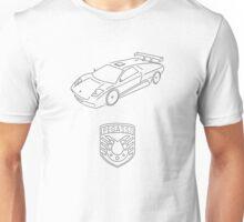 GTA V - Infernus Outline (Black) Unisex T-Shirt