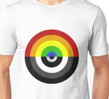 Rainbow Color Wheel Unisex T-Shirt