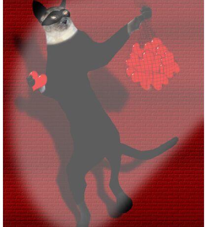 Thief of Hearts - Cat Burglar  Sticker
