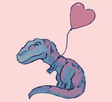 I Love Dinosaurs One Piece - Short Sleeve