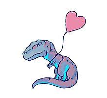 I Love Dinosaurs Photographic Print