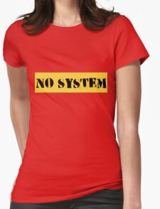 Cool No System Gift Design T-Shirt