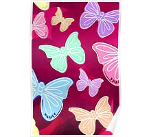 Butterfly Print Poster