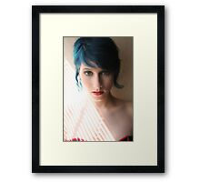 Red, White and Blue Framed Print