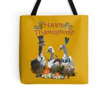 Thanksgiving Geese Tote Bag