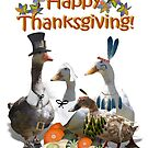 Thanksgiving Geese by Gravityx9