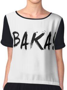 Baka! Anime Manga Shirt Chiffon Top