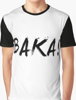 Baka! Anime Manga Shirt Graphic T-Shirt