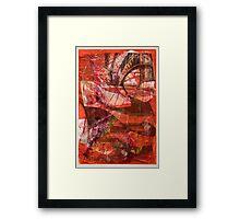 CRUELTY-FURY-HOW THEY SPEAK—PESSOA Framed Print