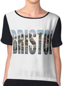Bristol Harbourside Chiffon Top