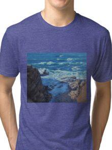 Ebb and Flow Seascape Tri-blend T-Shirt