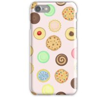 Cookies Pattern iPhone Case/Skin