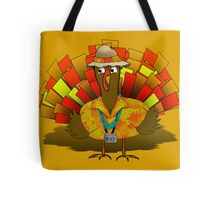 Turkey Takes a Vacation Tote Bag