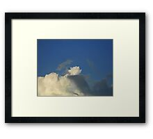 HCS Set Off Cumulus© Framed Print